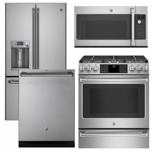 Package Cafe1 Ge Cafe Appliance 4 Piece Appliance Package With