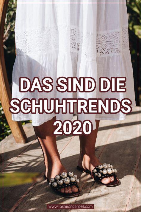Die 8 größten Schuhtrends 2020 im Frühling & Sommer