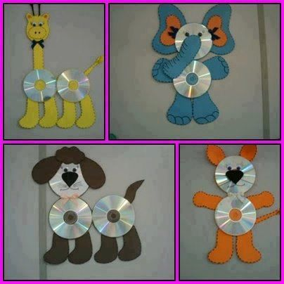 20 Brilliant Recycle Old Cds Craft Ideas Kids Art Projects Recycled Art Projects Crafts With Cds Easy recycling projects for preschoolers