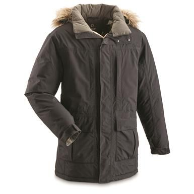 Guide Gear Men S Koyuk Waterproof Down Parka Down Parka Men S Coats And Jackets Puffer Jacket Outfit