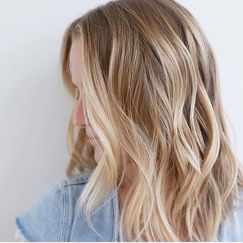 Rooty Gold Blonde - Blonde Hair Color Ideas To Try This Spring - Photos