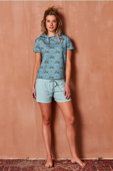 7ff32c679481c898de02a039cbed6eca - Dames Pyjama Met Korte Broek