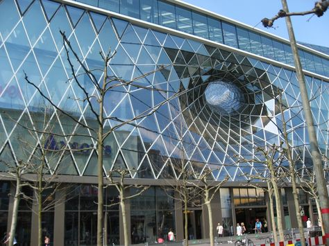Frankfurt MAB ZEIL shopping center ARCHITECTURE BUILDINGS - häcker küchen frankfurt