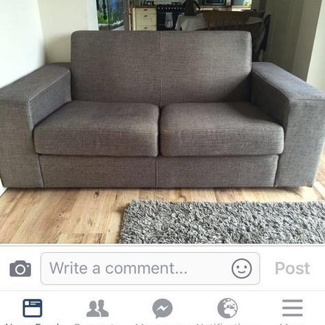 Lovely 2 Seater Sofa For In