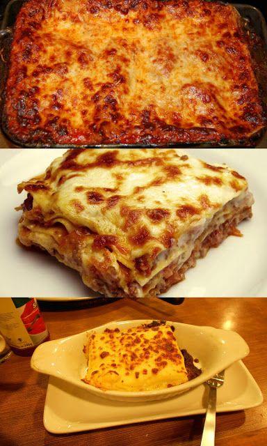 أسهل طريقة لعمل لازانيا بيتزا هت الأصلية Food Food And Drink Lasagna Pizza Hut