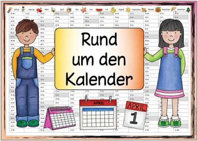 Ideenreise Themenplakat Rund Um Den Kalender Grundschule Kalender Fur Kinder Wissenschaft Fur Kinder