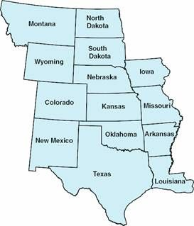 US Map And State Capitals This Is A Map Of The United States Of - Central united states map