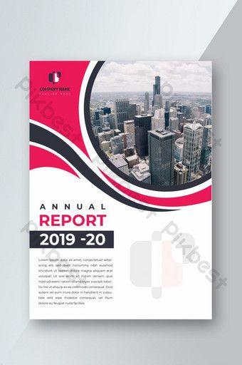 قالب تصميم غلاف التقرير السنوي للأعمال Ai تحميل مجاني Pikbest Design Template Cover Design Design