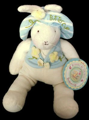 Nwt Hallmark Bunnies By The Bay Happy Buttercup Rabbit Easter