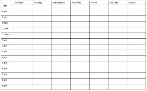 Nursing Daily Shift Planner Template Schedule Template Nursing