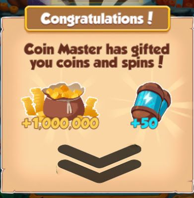 Coin Master Free 50 Spins Link 03 November 2019 Masters Gift Coin Master Hack Spinning