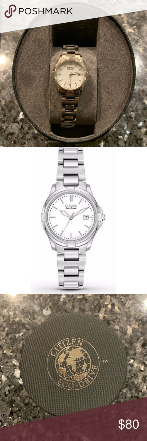 e5eaf758dc9 Citizen Eco-Drive Woman s Silver Watch Ladies Eco-Drive Silhouette Sport  Watch by Citizen