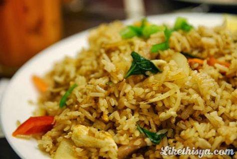 Cara Membuat Nasi Goreng Kuliner Indonesia Pinterest