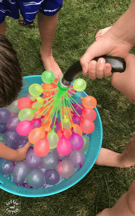 Have more fun and be a sillier mom with these 35 super fun ideas. Have a water balloon fight with your kids plans 35 Super Fun Ways to Be More Silly With Your Kids Summer Fun List, Summer Goals, Summer Bucket, Summer Plan, Water Balloon Fight, Water Balloons, Water Fight, Summer Feeling, Summer Vibes