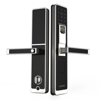 Aqara Wifi Fingerprint Smart Door Lock For Home Security For 159 99 Http Www Deals Pokolenies Smart Door Locks Wireless Home Security Systems Home Security