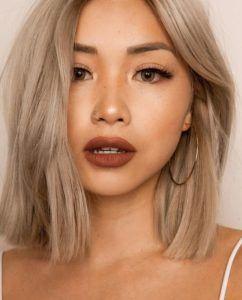 Asian Hair Color Ideas Blonde Asian Hair Hair Color Asian Asian Hair