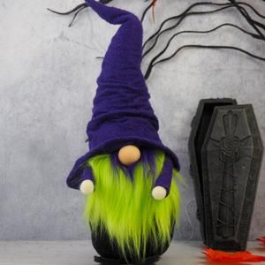 Halloween Gnome Etsy Halloween Gnome Gnomes Fiberfill