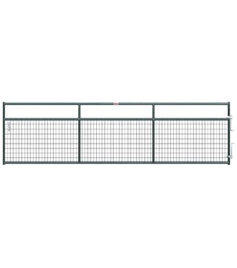 Behlen 16 Ft Green 2 In By 4 In Wire Mesh Heavy Duty Gate Wilco Farm Stores Wire Mesh Tractor Supplies Ranch Gates