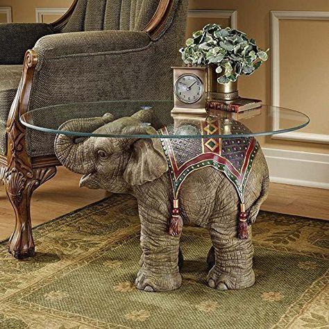 Design Toscano Eu29868 Elephant Jaipur De Verre Cocktail Https Www Amazon Fr Dp B005kdptb2 Ref Cm Sw R Pi Dp Elephant Indien Art Elephant Deco Africaine
