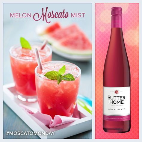 Toast to Moscato month with this delicious Melon Moscato Mist!