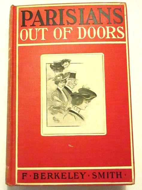 Pariser aus Türen f. Berkeley Smith HC 1905 1st Printing