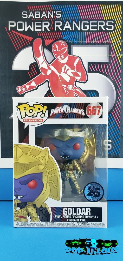 Goldar Pop Vinyl Power Rangers