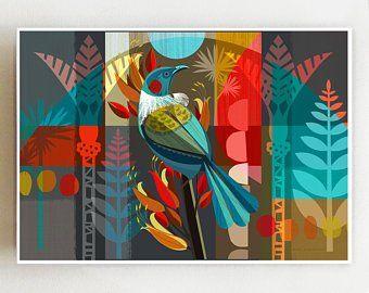 Etsy Acheter Vendre Et Vivre Handmade Art Colore Tableau Abstrait Toile A Peindre
