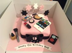 Birthday Cakes For Teenage Girls ~ Great for a 13th birthday girl who isn't really a girly girl but