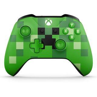 Microsoft Xbox One Minecraft Creeper Wireless Controller Kohls In 2020 Xbox Wireless Controller Xbox One Controller Xbox Controller