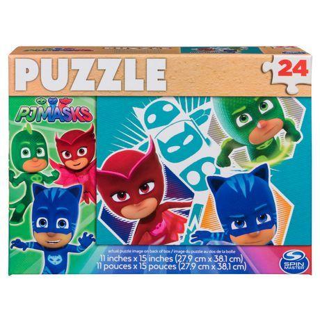 pj masks 24 piece puzzle