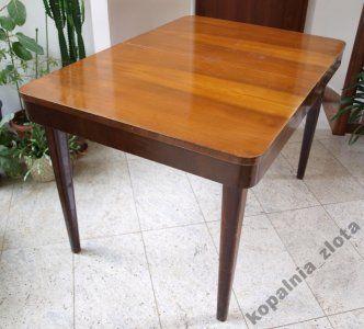 Stol Rozkladany Lata 60 W Orzechu Design 6071373125 Oficjalne Archiwum Allegro Home Decor Design Dining Table