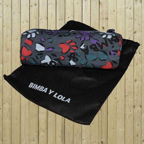 EBAY Neceser estuche Bimba y Lola huellas perro paw print dog make up bag, AWESOME!