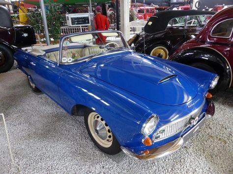 Auto Union 1000 Sp Cabrio im Technikmuseum Speyer am 02.11.2015 (Baujahr 1963, Leistung 55 PS, 980cm³, 3 Zylinder)