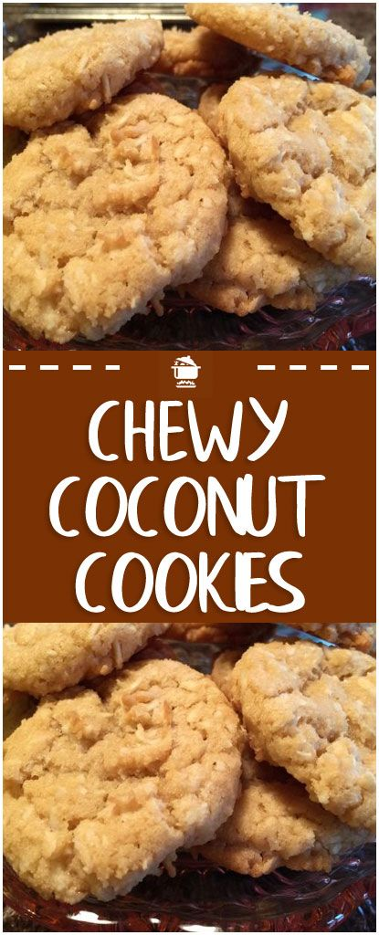 Chewy Coconut Cookies Home Family Recipes Coconut Cookies