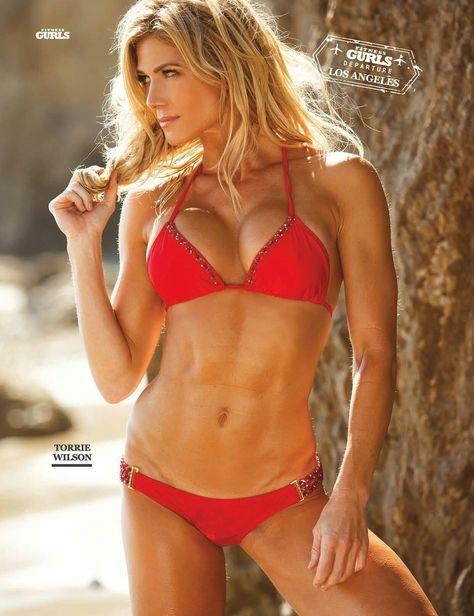 Torrie Wilson (Tumblr: hotgirlsbeinghot).   Torrie wilson, Bikinis, Red bikini
