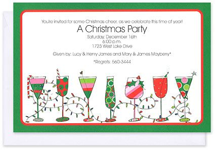holiday invitations - our wedding plus — our wedding plus | quotes, Party invitations