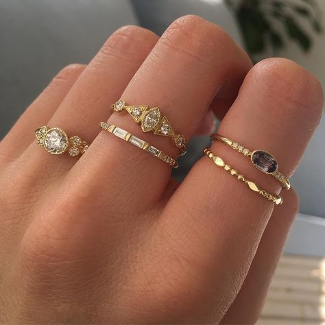 Shop our latest gemstone rings, necklaces and more. Modern yet timeless fine jewelry for the everyday. Nail Jewelry, Dainty Jewelry, Cute Jewelry, Gold Jewelry, Jewelry Accessories, Fashion Accessories, Fashion Jewelry, Luxury Jewelry, Women Jewelry
