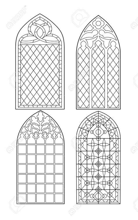 34 Kirchenfenster Gotik Malvorlage - Besten Bilder von