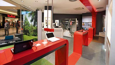 Mobile Stores Vodafone Shops Germany Retail Design Blog