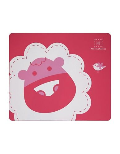 Marcus /& Marcus MARCUS THE LION Silicone Placemat Red