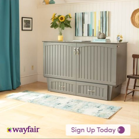 Sign up with wayfair.ca! Your dream bedroom is a click away. Find space-saving murphy beds, and all other bedroom needs. There's a bed awaiting you here. Shop a zillion things home with fast and free shipping on thousands of items. Don't wait to make your dream bedroom a reality.