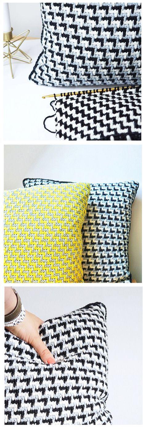 topflappen hakeln im waffelmuster. Black Bedroom Furniture Sets. Home Design Ideas