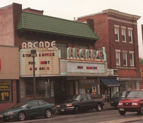 1980s 5436 Harford Road In Hamilton The Arcade Theater Building Historic Baltimore Baltimore City Baltimore