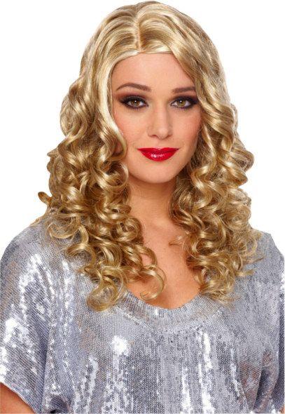 Country Curls Deluxe Wig Adult Blonde Blonde Wig Long Blonde Wig Blonde Halloween Costumes