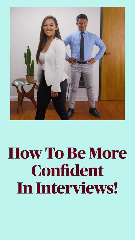 How To Be More Confident In Interviews!
