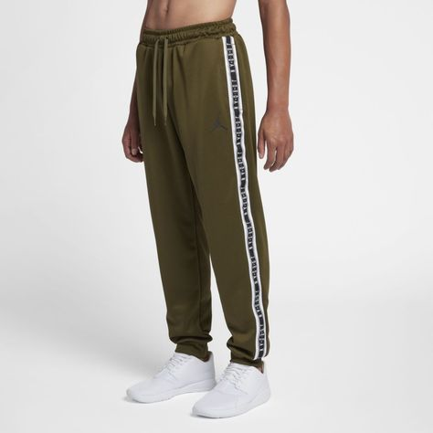d340662285d1 Jordan Sportswear Jumpman Men s Pants Size 2XL (Olive Canvas)