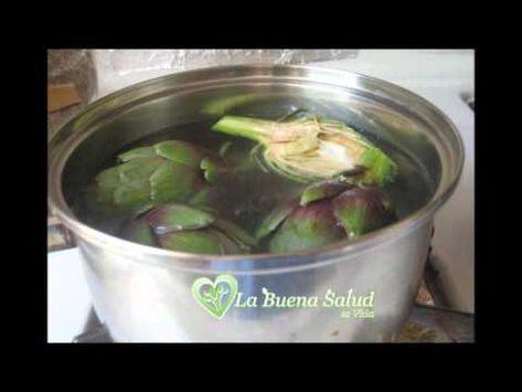 El para alcachofa agua adelgazar se como prepara de