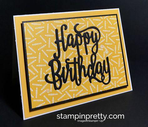 Simple Happy Birthday Card Su Stamps Happy Birthday Gorgeous