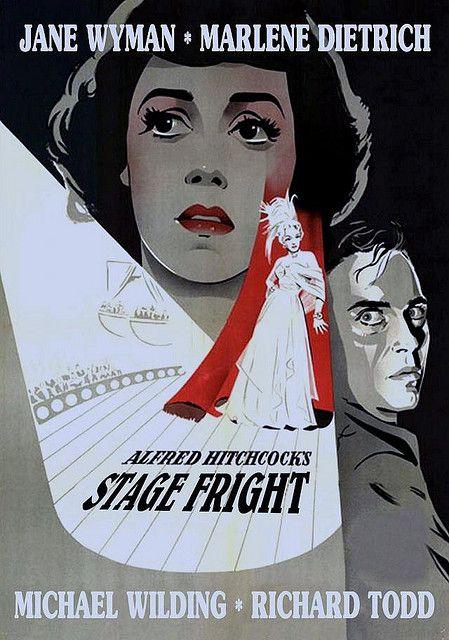 Stage Fright 1950 ~Repinned via Mary-Jo Maisto http://www.flickr.com/photos/greenman2008/2466120628/