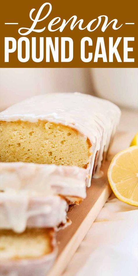 Lemon Pound Cake! If you're looking for bold lemon flavor, look no further! This lemon pound cake is everything a lemon lover desires—a tart, lemon pucker punch with just enough sweetness to soften the blow. #lemonpoundcake #simplyrecipes #dessert #baking #poundcake #lemon